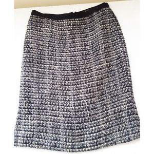 J Crew Tweed Skirt Size  00 Petite